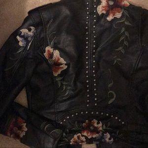 Blank NYC Jackets & Coats - BLANK NYC EMBROIDERED JACKET